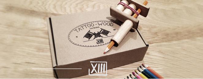 Tattoo Wood 4 Kids