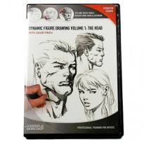 "David Finch DVD ""Dynamic Figure Drawing Vol. 2: Hands and Feet"""