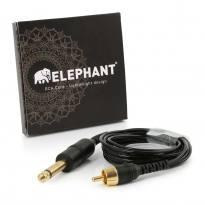 Elephant - Lightweight Cinch/RCA Kabel - gerade -schwarz-