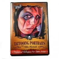 "Nikko Hurtado DVD ""Tattooing Portraits"""