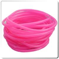 Pinke Maschinen Gummis 100stk