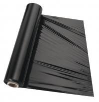 Schwarze Folie 500mm breit