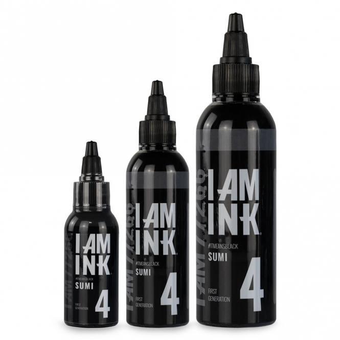 I AM INK-First Generation 4 Sumi - 100ml
