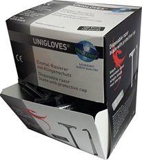 Unigloves Einwegrasierer schwarz 100 Stk.