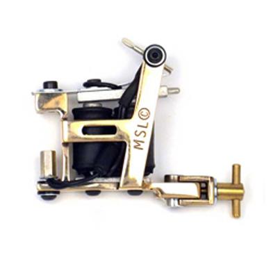 Micky Sharpz Hybrid Brass Tätowiermaschine
