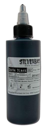 Silverback Ink INSTA Black 120ml