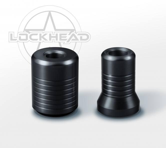 Lockhead Pen Griffstück schwarz 20mm