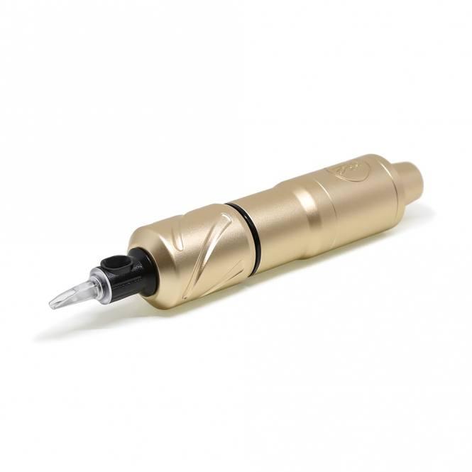 """Right Stuff - Hornet - Tattoo Pen mit 28 mm Griffstück  """"gold"""""""