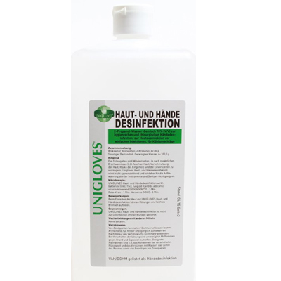 Hautdesinfektionsmittel Unigloves 1000ml