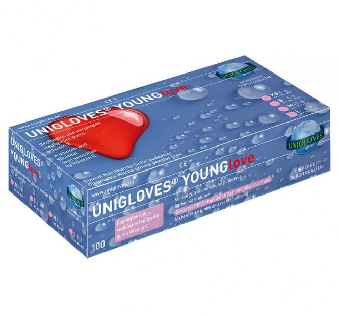 """Unigloves YOUNGlove """"XS"""""""