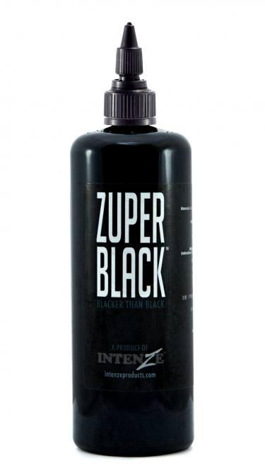 INTENZE ZUPER BLACK 355ml