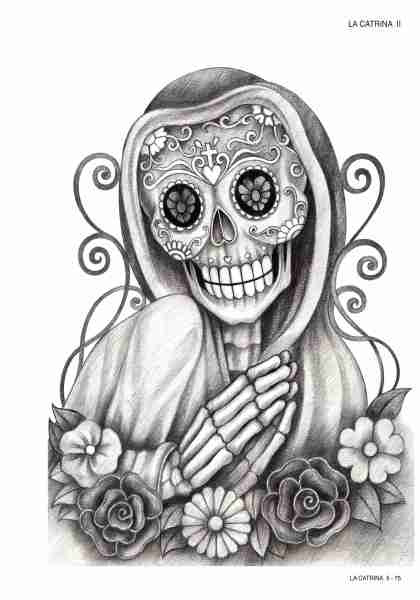 tattoo tools onlineshop la catrina sugar skulls vol 2. Black Bedroom Furniture Sets. Home Design Ideas